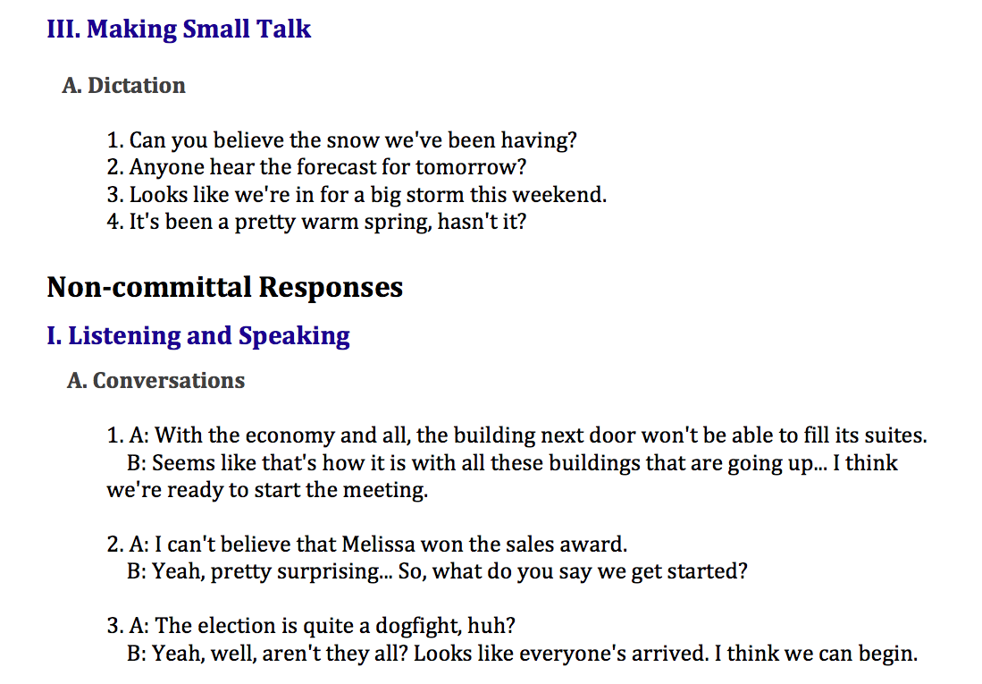 Intermediate Business Series_Meetings_Lesson 3_From Small Talk to
