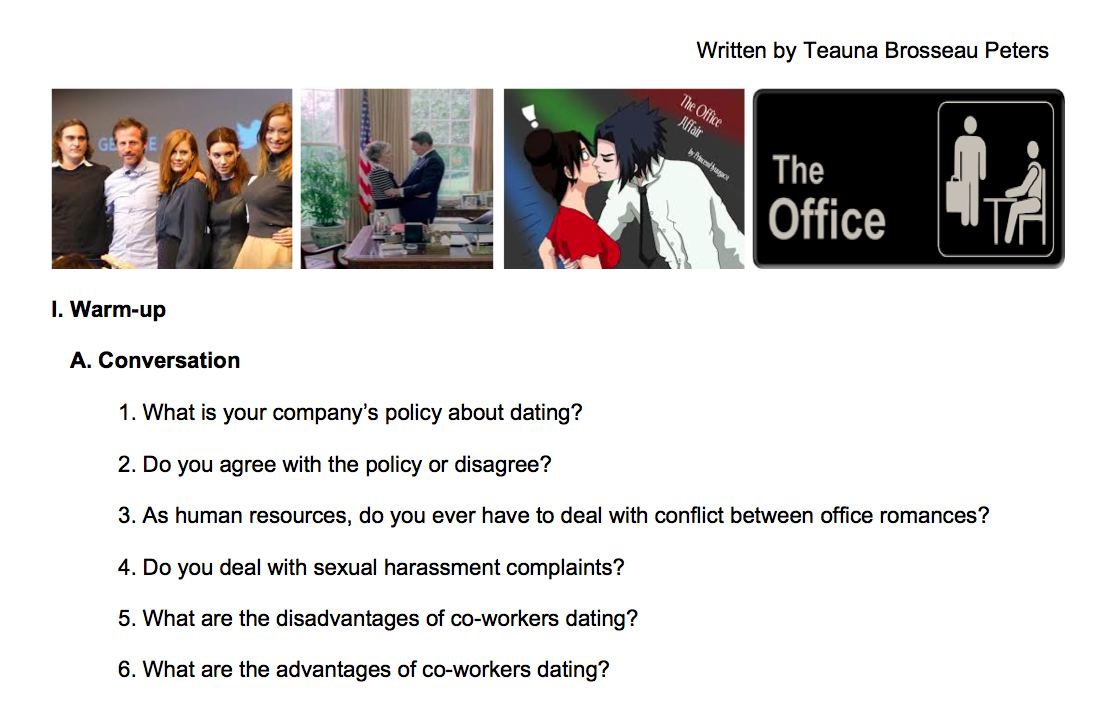 What is office romance